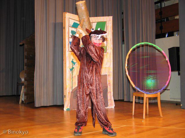 Atelier théâtre Binokyo - représentation 2005