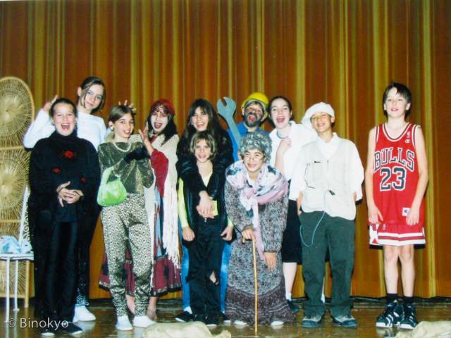 Atelier théâtre Binokyo - représentation 2000