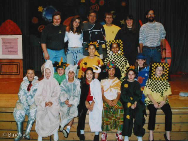 Atelier théâtre Binokyo - représentation 1999