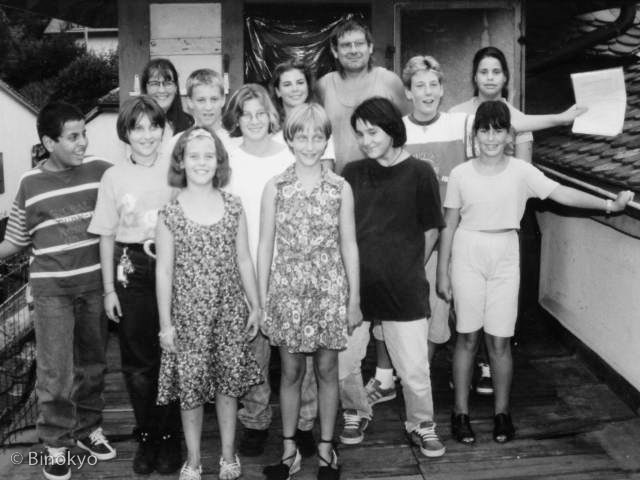 Atelier théâtre Binokyo - représentation 1997