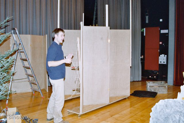 Atelier théâtre Binokyo - représentation 2003