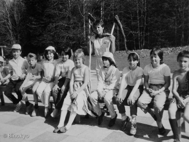Atelier théâtre Binokyo - représentation 1987