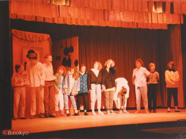 Atelier théâtre Binokyo - représentation 1986
