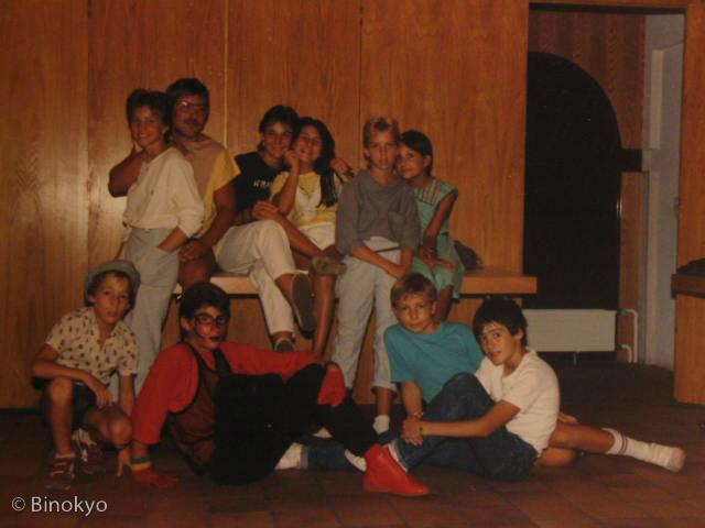 Atelier théâtre Binokyo - représentation 1984